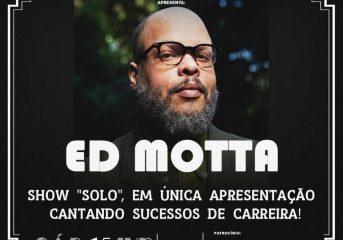 """Ed Motta apresenta show """"solo"""" com piano e guitarra"""
