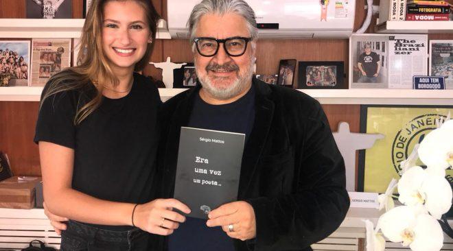 """O caçador de talentos Sérgio Mattos lança seu primeiro livro de poesias """"Era uma vez uma vez um poeta."""""""