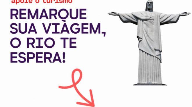 Hotéis Rio promove campanha nas redes sociais de apoio ao turismo