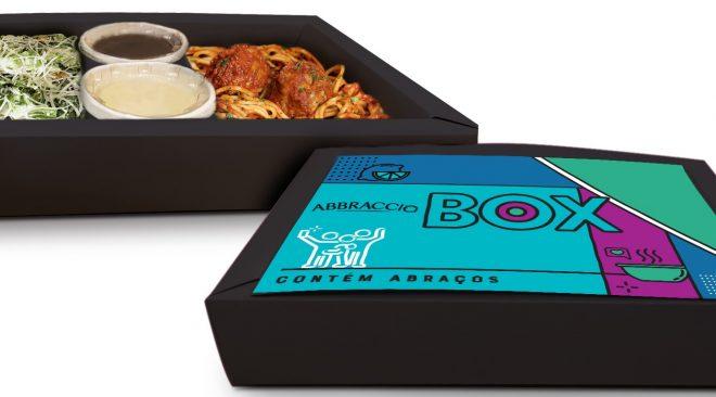 Abbraccio lança box especial no delivery que inclui entrada, prato principal e sobremesa por R$ 49,90