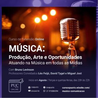Música a serviço da dramaturgia, marcas e eventos.