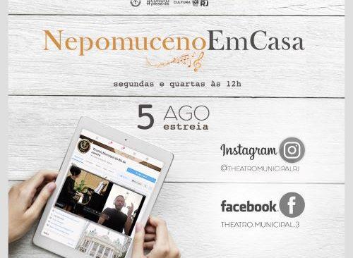 Theatro Municipal do Rio de Janeiro apresenta a Campanha #NepomucenoEmCasa no centenário de morte do compositor e regente Alberto Nepomuceno
