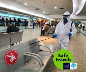 """Rodoviária do Rio é certificada com selo """"Safe Travels"""""""