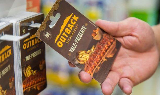 Outback lança Gift Card Varejo e anuncia venda nas lojas do Carrefour