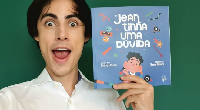 Editora Tigrito  lança o livro infantil JEAN TINHA UMA DÚVIDA, de Rodrigo Bruno