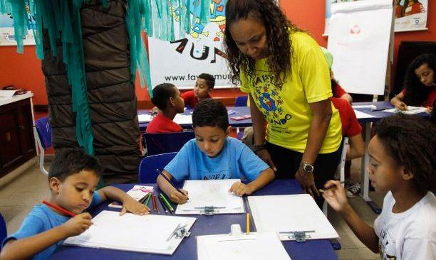 ONG FAVELA MUNDO promove atividades gratuitas para as crianças