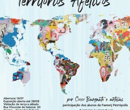 "Cocco Barçante apresenta ""TERRITÓRIOS AFETIVOS"""