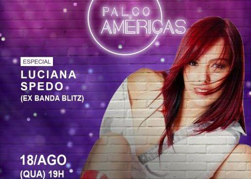 Shows gratuitos no PALCO AMÉRICAS em agosto